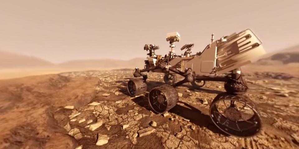 好奇者号火星 VR视频