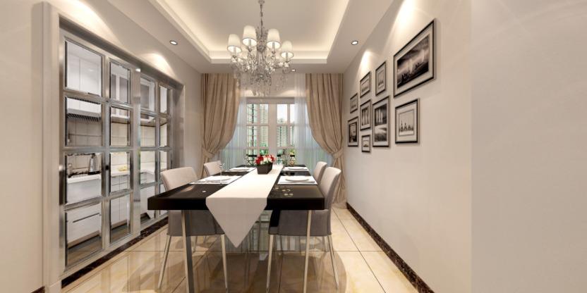 现代客厅布置