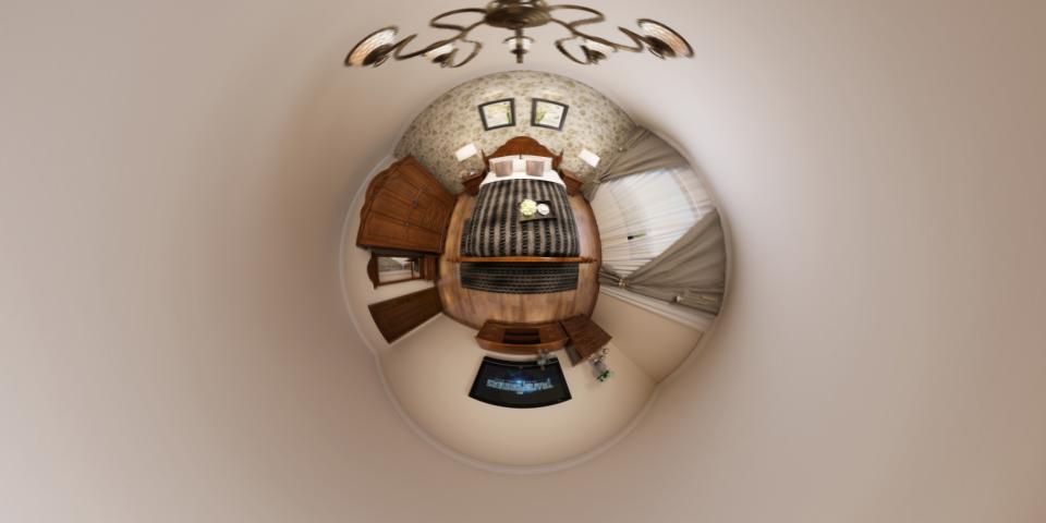 客厅小行星视角