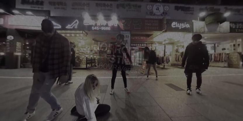 僵尸街头街舞VR视频