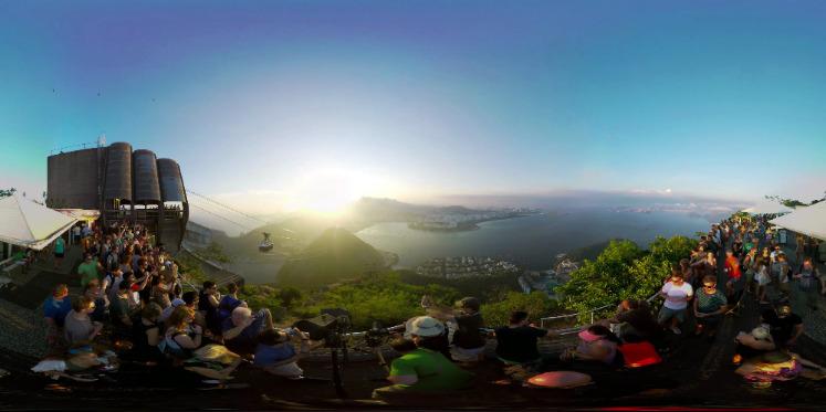 巴西里约奥运会官方VR宣传片