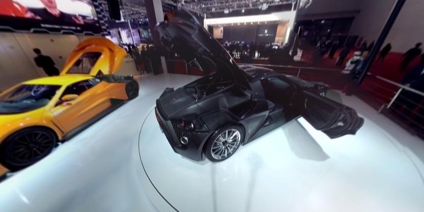 ZENVO超级跑车全景视频