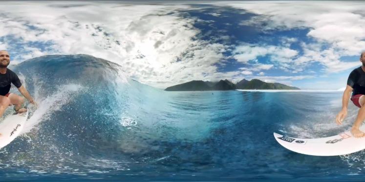 大溪地极限冲浪