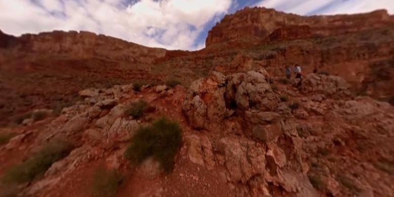 美国峡谷激情漂流 VR视频