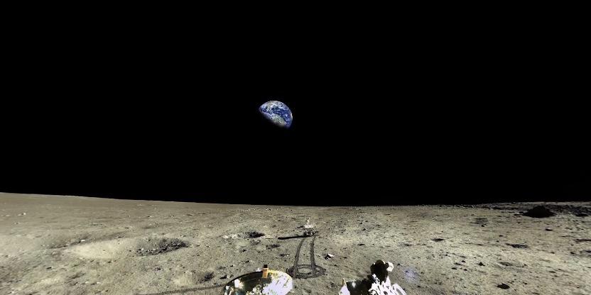 想看一看无死角月球的地貌吗?